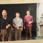 Henry, Ian Tearle, Alan Moffit, Rosie.